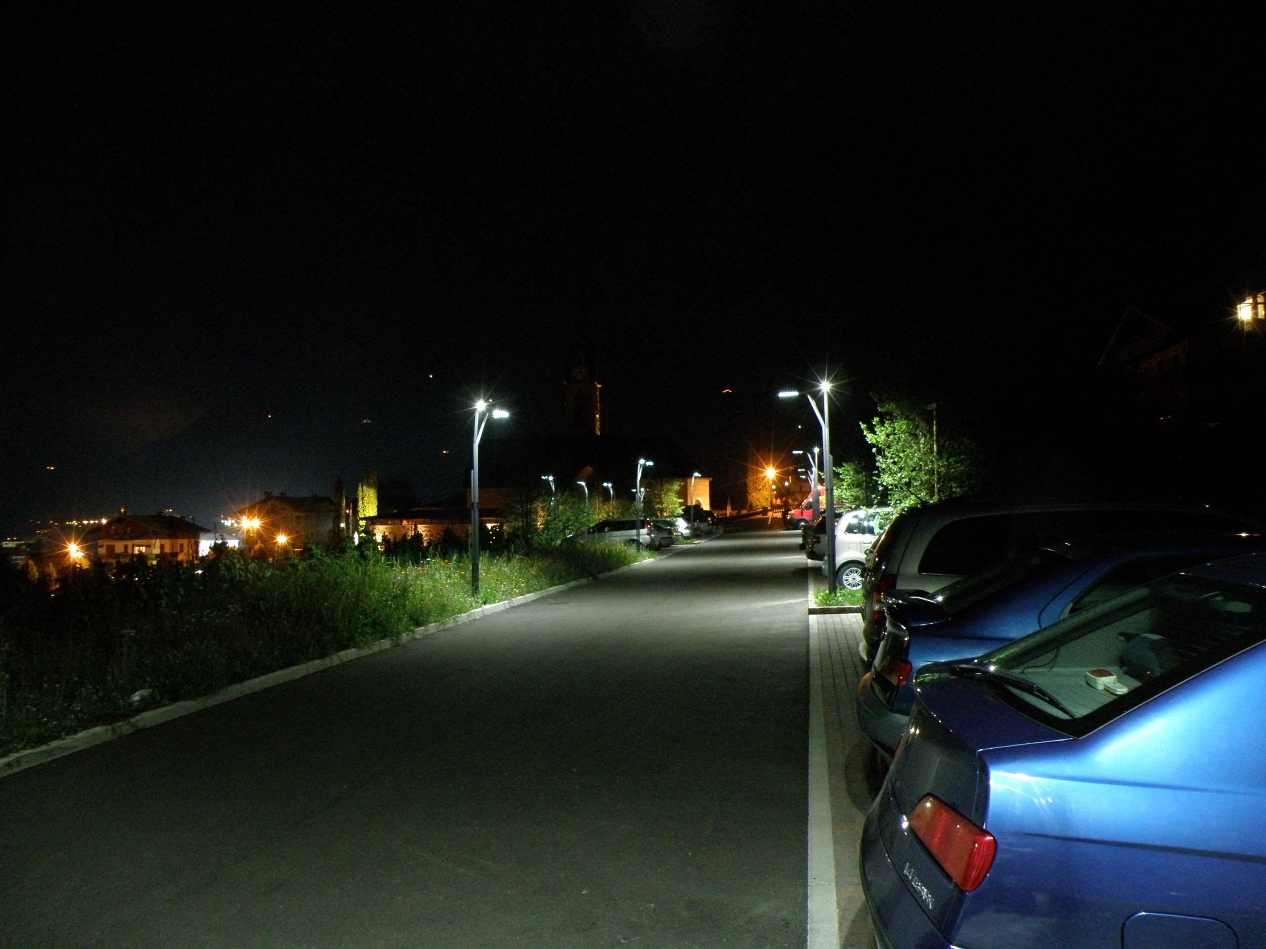 Effetto spot illuminazione LED