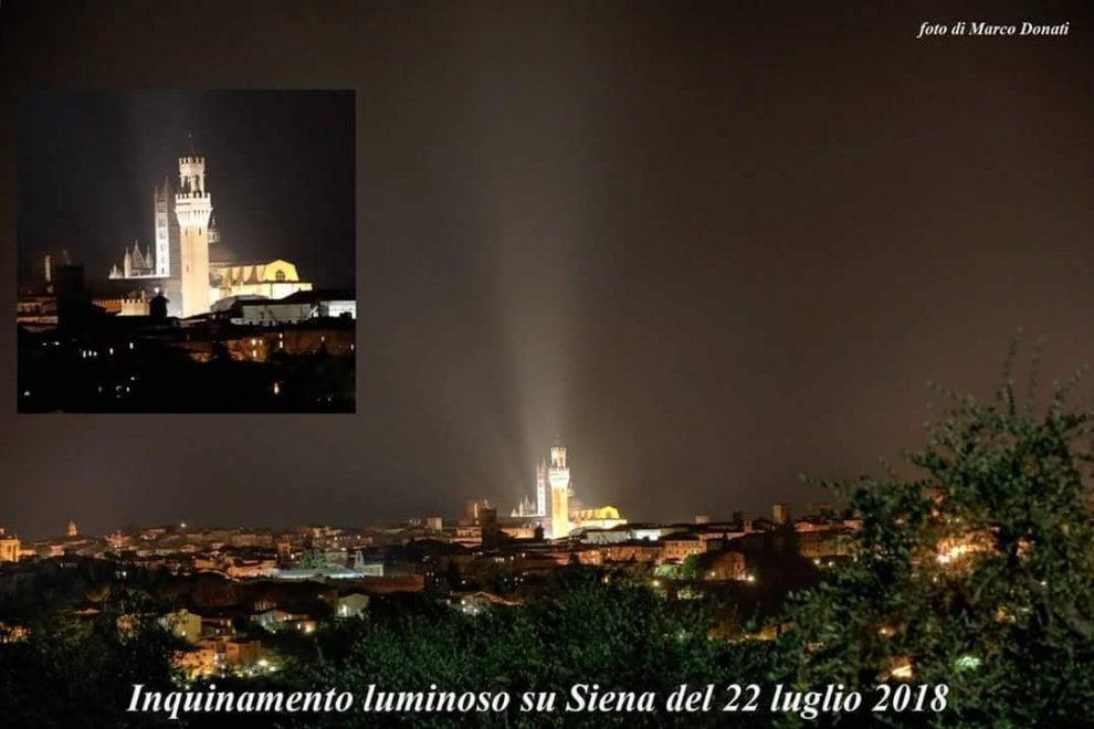 Italia illuminazione dei monumenti u cielobuio